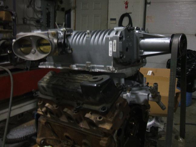 L Supercharged Intake on Ford Ranger 3 0l V6 Engine
